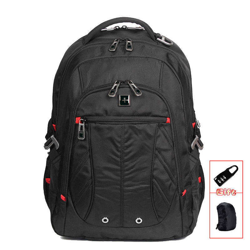 Men backpacks Waterproof Nylon computer laptop backpack School backpacks large capacity students travel bags SW8110I ozuko multi functional men backpack waterproof usb charge computer backpacks 15inch laptop bag creative student school bags 2018