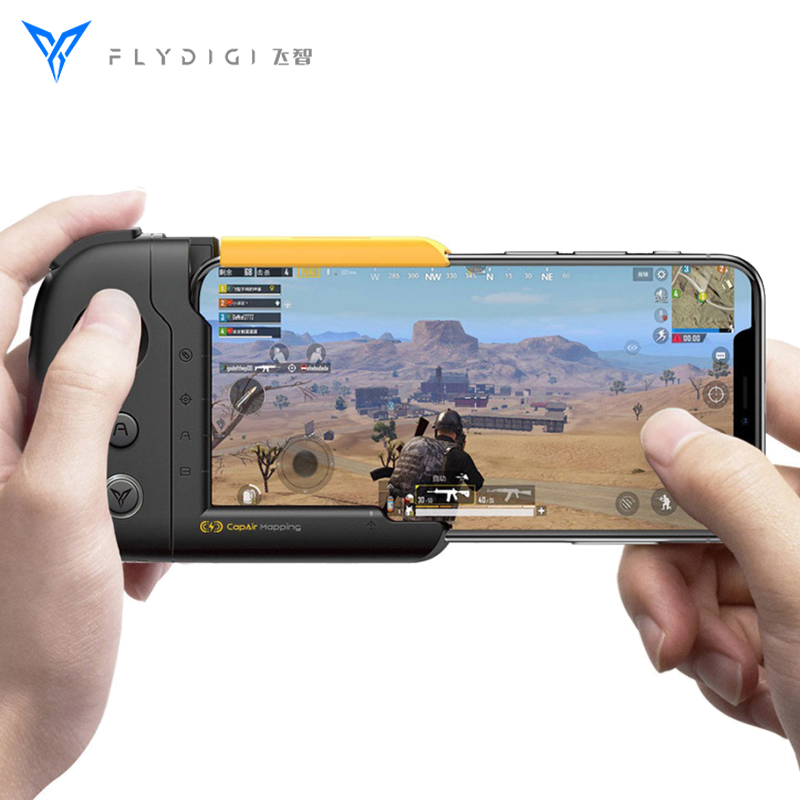 Original FlyDiGi WASP One-handed Gamepad Physical Connection CapAir Mapping Joystick for PUBG Mobile Game Controller for iPhone