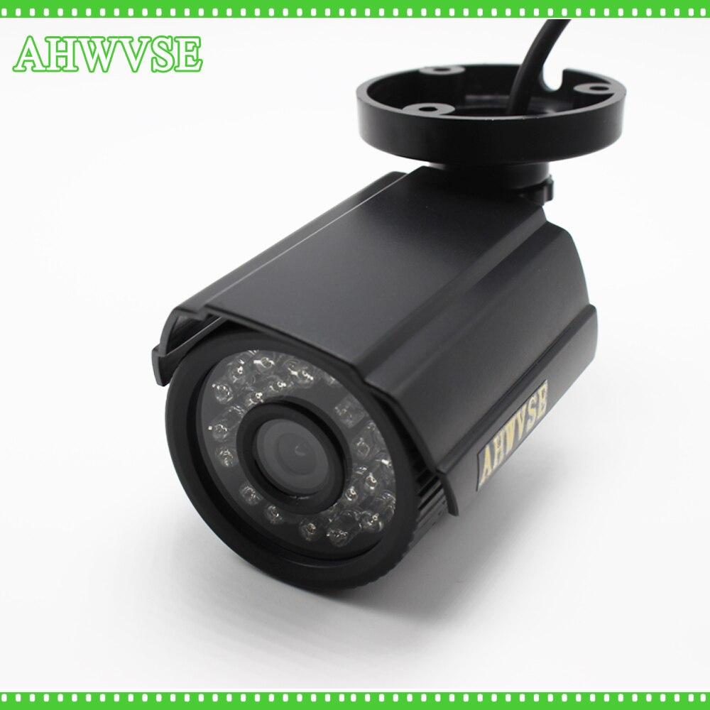 AHWVSE Haute Qualité 1200TVL IR Caméra DE VIDÉOSURVEILLANCE Filtre 24 Heures Par Jour/Vidéo de Vision Nocturne Extérieure Étanche IR surveillance