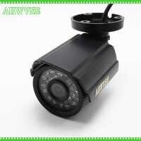 AHWVSE haute qualité 1200TVL IR coupe CCTV caméra filtre 24 heures jour/nuit Vision vidéo extérieure étanche IR Surveillance de balle