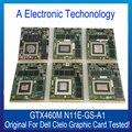 Placa Gráfica Para DELL GTX460M N11E-GS-A1 Clevo Original Display Substituição da Placa de Vídeo GPU Testado Trabalho
