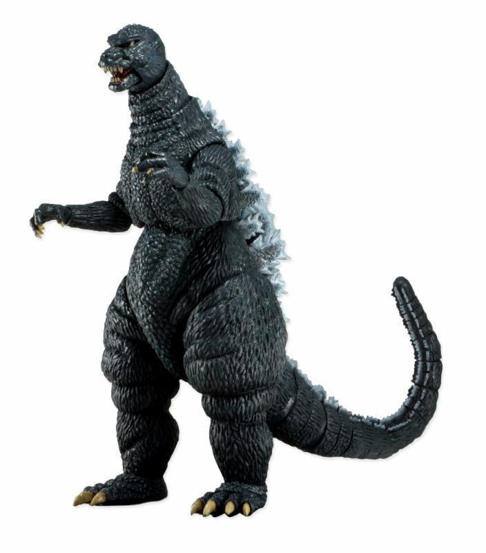 Super Classic 18cm Year 1985 Movie Godzilla Swing Action Figures PVC brinquedos Collection Figures toys Kids Birthday gifts 30cm pvc lifelike space godzilla monster dinosaur model toy ction figures boy toys cartoon collection toys kids birthday gift