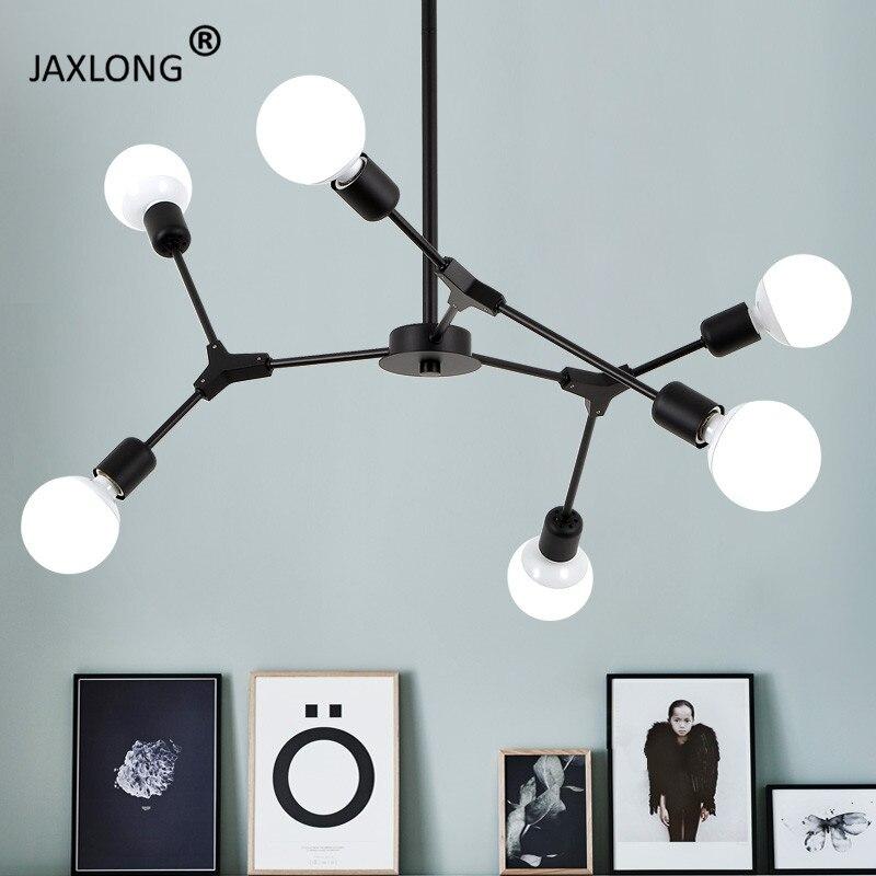 Nordic Style Chandelier ceiling lamp Restaurant Lighting Living Room Bedroom Design lustre Modern Home hanging Light Fixture