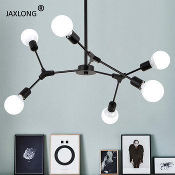 Nordic Style Chandelier ceiling lamp Restaurant Lighting Living Room Bedroom Design lustre Modern Home hanging Light Fixture