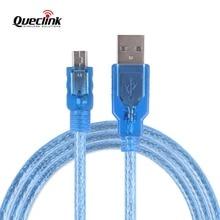 Купить с кэшбэком Queclink Mini USB Data Cable 1.5M Blue Configure Configuration Cable Line For GL300W GPS Tracker Locator