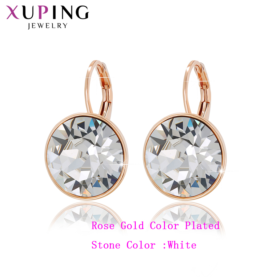 11.11 Deals Xuping Jewelry Lovely Fashion Crystals from Swarovski Colorful Earrings Charm for Women Christmas Gift M67-20369 цены