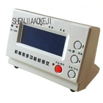 1 ud. Equipo de reloj de calibración 90-240V instrumento de medición automático para pruebas y mantenimiento del rendimiento del reloj