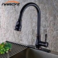 Deck Mount Mixer Hot And Cold Big Head Basin Kitchen Faucet XR999