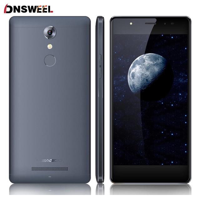 "Original LEAGOO T1 4G 5.0 ""Huella Digital MTK6737 Smartphone Android 6.0 Quad Core 1.3 GHz Teléfono Móvil 2 GB + 16 GB 8MP $ number MP Teléfono Móvil"