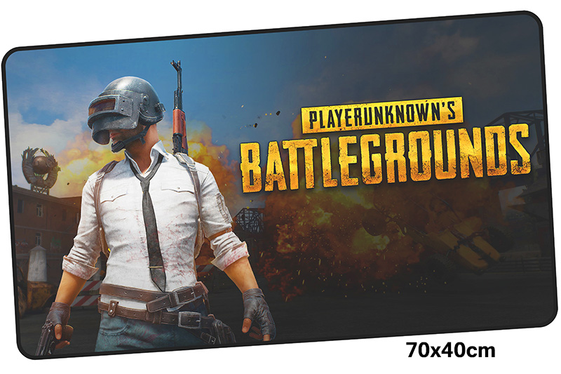 pubg mousepad gamer 700x400X3MM gaming mouse pad large Fashion notebook pc accessories laptop padmouse ergonomic mat original from uk fraser 850 conductive microfibre filament cord anti static string 10m 25m