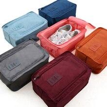 цена на NIIFAWH Shoe Storage Bag Organizer Multi-Function Travel Folding Shoe Bag Portable Storage Bag Travel Shoe Bag Portable Shoe Box