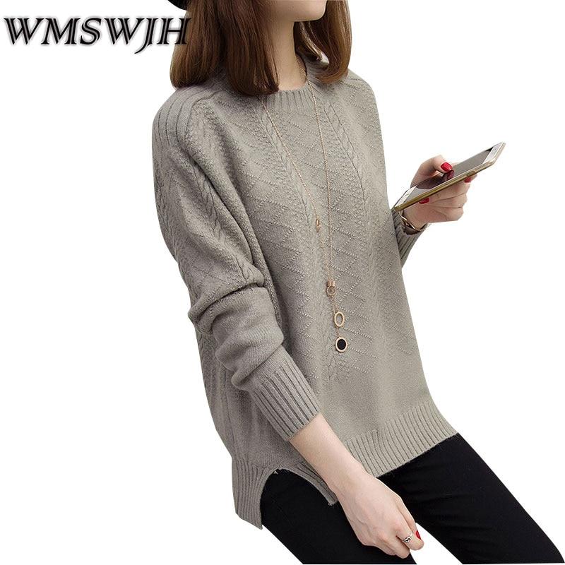 Damessweater Herfst Winter Nieuw Ronde hals Hennep Bloemen Pullover - Dameskleding