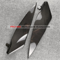 Side Panels Upper in 100% carbon fiber For Yamaha YZF1000 R1 2007 2008