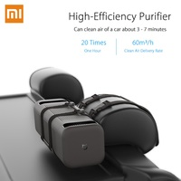 Xiaomi Air Purifier Double Fans Bind on the Headrest of the Car Chair Purifying PM 2.5 Cleaning Automobile Air Cleaner