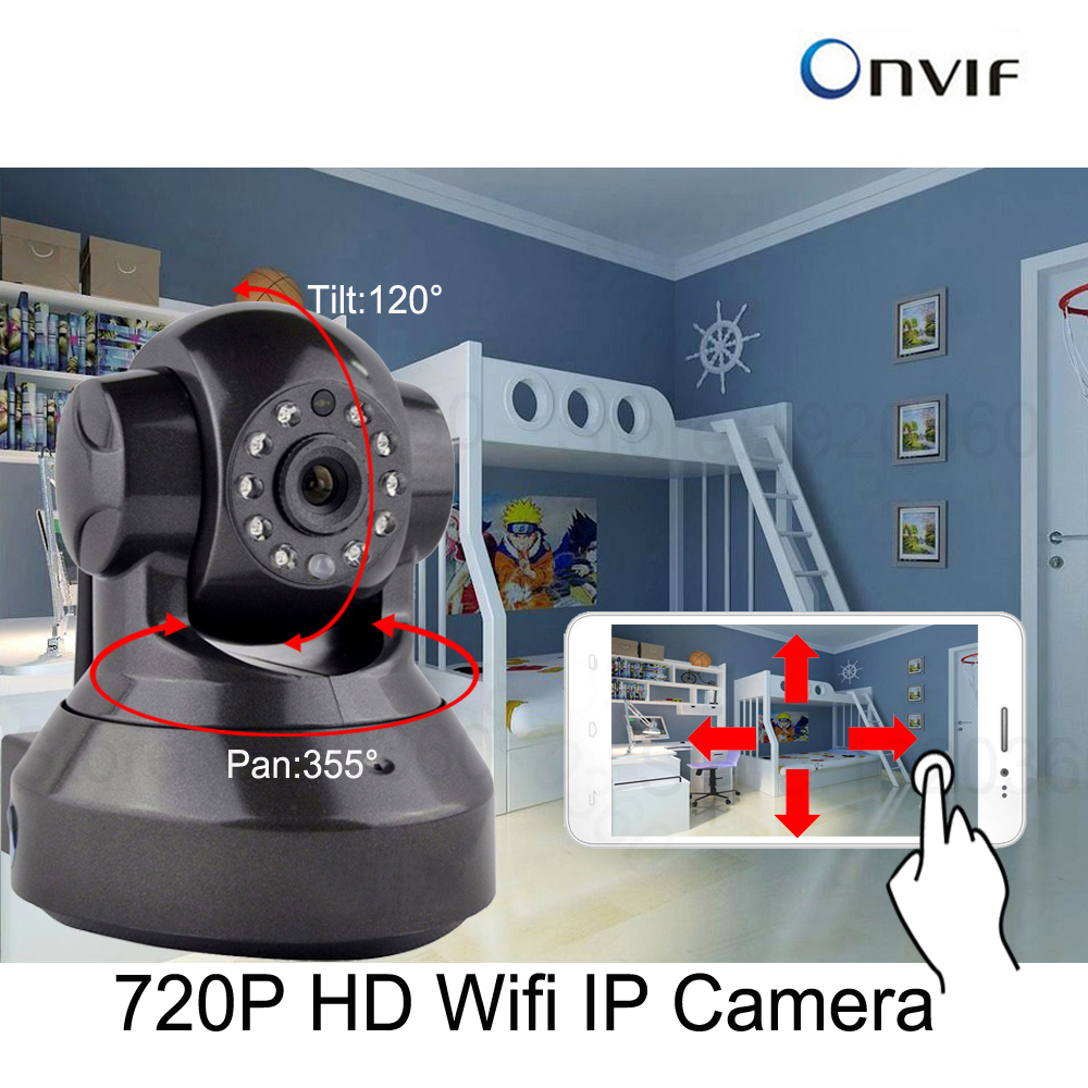 cdycam home security ip camera wireless mini ip camera surveillance camera wifi 720p night. Black Bedroom Furniture Sets. Home Design Ideas
