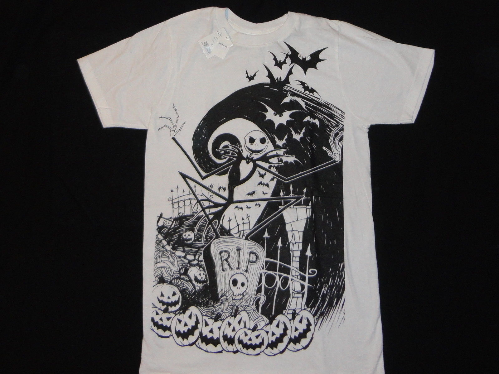 Hot Sale JACK SKELLINGTON NEW T-SHIRT S-3XL NIGHTMARE BEFORE ...