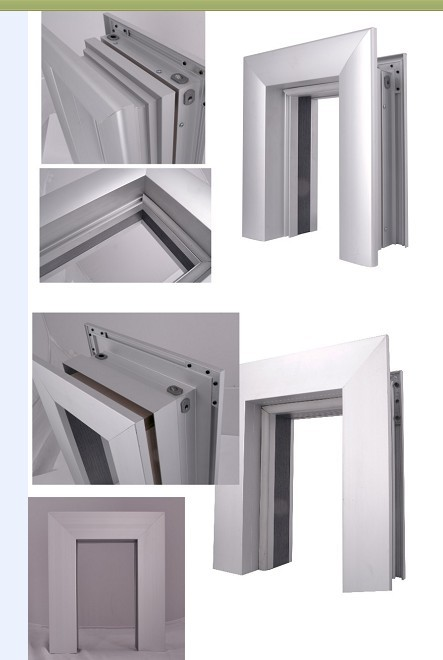 Simple Style Aluminium Room Doors,Aluminum Alloy Water Resistance Interior Restaurant Door
