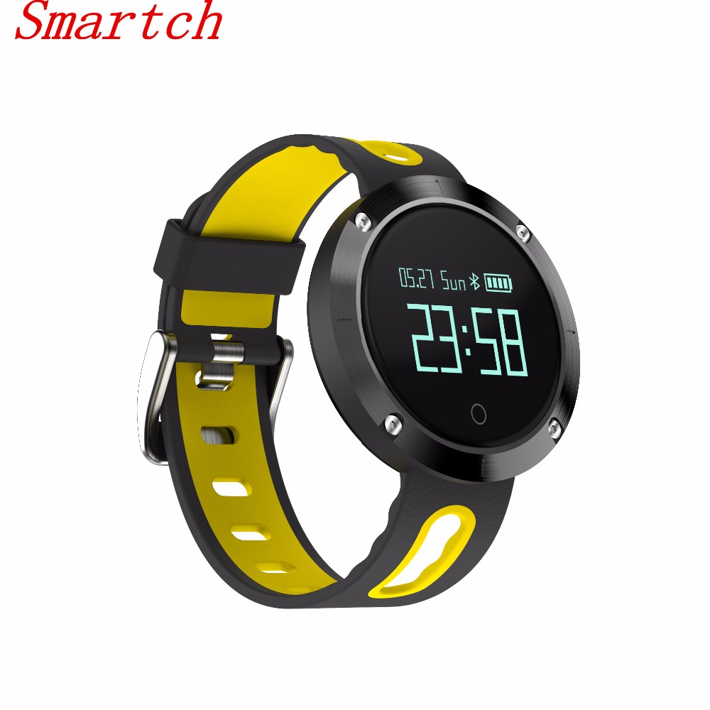 Smartch DM58 Smart Bracelet Heart Rate Monitor Bluetooth Smart band Blood Pressure Fitness Tracker Wristbands Waterproof