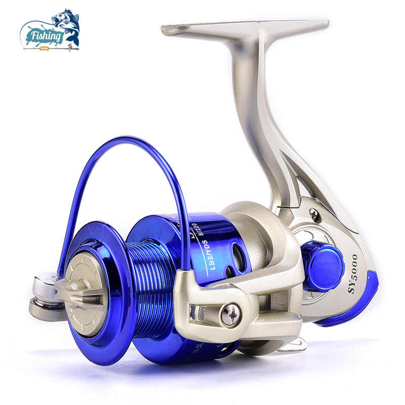 Spinning Reel Carp Fishing Small Metal 8BB 5.1:1 High Speed Bass Trout 2000-7000