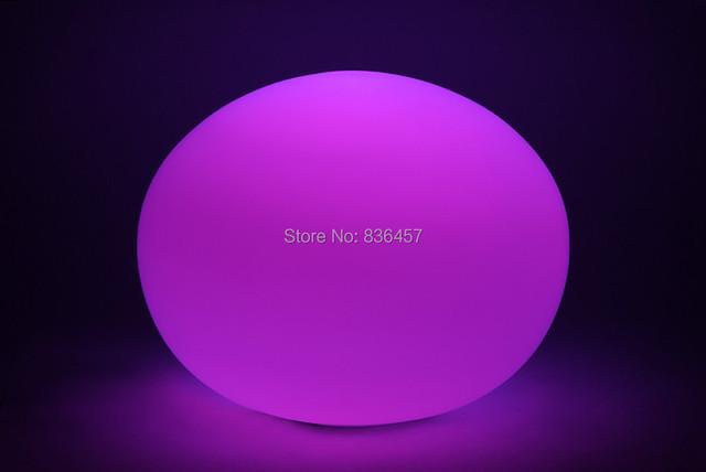 Ion bola de vidro Multi Color LED Night Luz bola de plasma de vidro Humor Lâmpada Fluorescente novidade led night lights