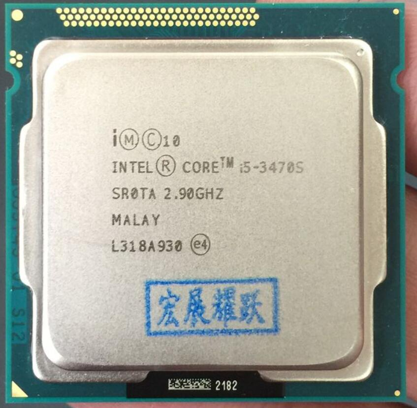 Intel  Core  i5-3470S  i5 3470S  Processor  CPU LGA 1155 100% working properly Desktop Processor wavelets processor