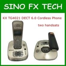 11.11 98% NOVO Telefone Dect 6.0 sem fio Com Sistema de Atendimento 2 Aparelhos KX TG-4021 TG-4011