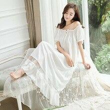 Đầm Công Chúa Váy Ngủ Pyjamas Nữ Ren Xù Đồ Ngủ. Nữ Hoàng Gia Dài Váy Ngủ Lolita Pyjamas Loungewear Váy Ngủ