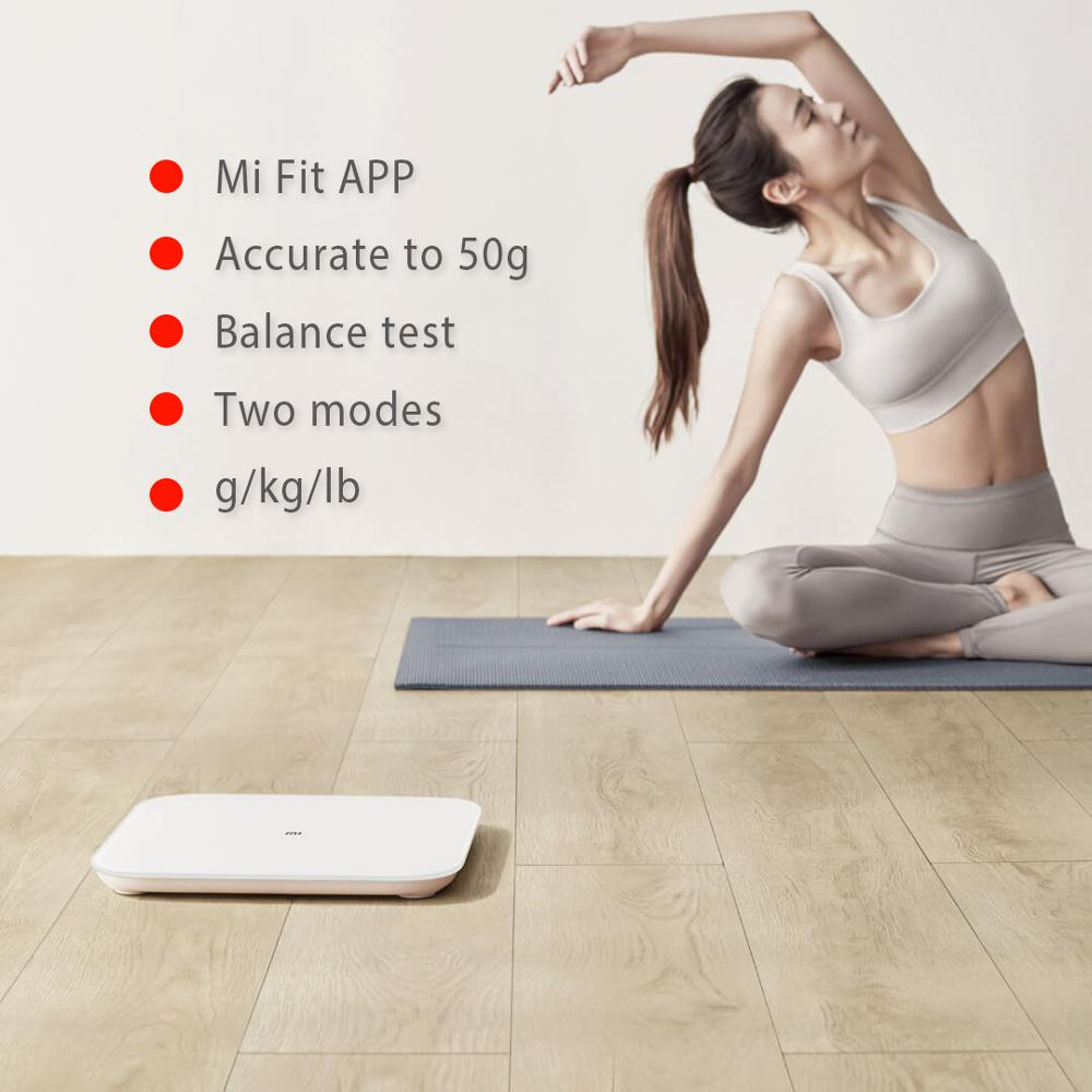 XIAOMI MIJIA Mi Smart Weight Scale for Fitness Check with LED screen and APP 1