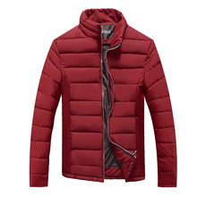 Winter Jackets Mens Jackets Mens Jaqueta Masculina Autumn And Men's Collar Tide Korean Cultivating Youth Cotton Padded Jacket