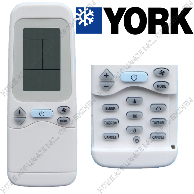 York Air Cond Remote Control Airea Condicionado