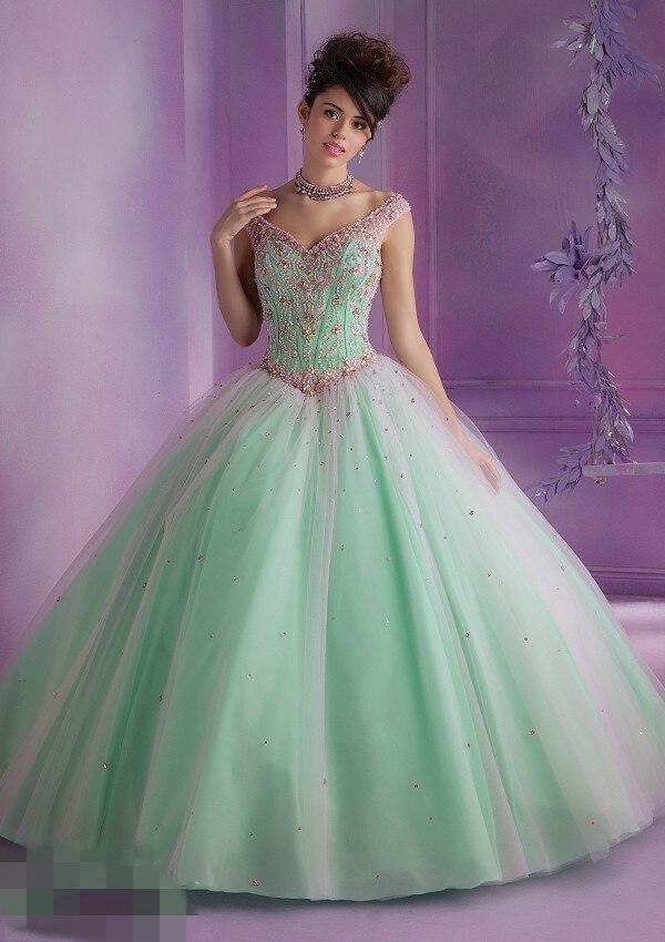 Popular Quinceanera Dresses Mint-Buy Cheap Quinceanera Dresses ...