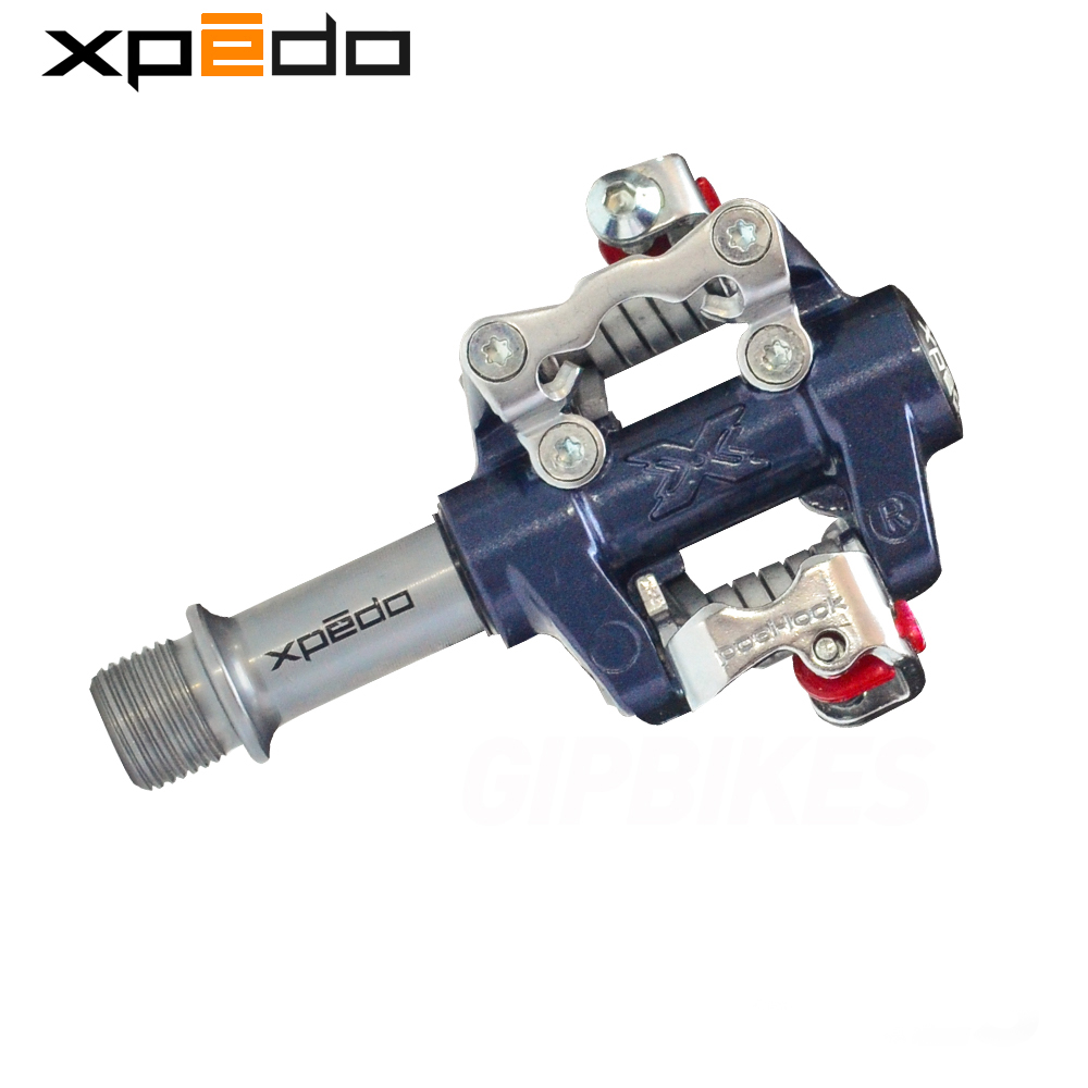 Wellgo Xpedo XMF07AC bicycle MTB pedals bearing ultralight mountain bike XPD self-locking Aluminum/Alloy