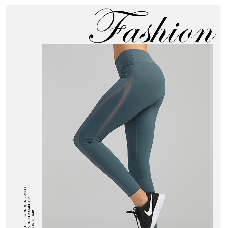 Fitness & Bodybuilding Ck181083 Syprem Leggings Yoga Hosen Frauen Mesh Hohe Taille Yoga Schwarz Leggings Hohe Elastische Neue Sexy Mädchen Yoga Hosen Leggings Sport & Unterhaltung