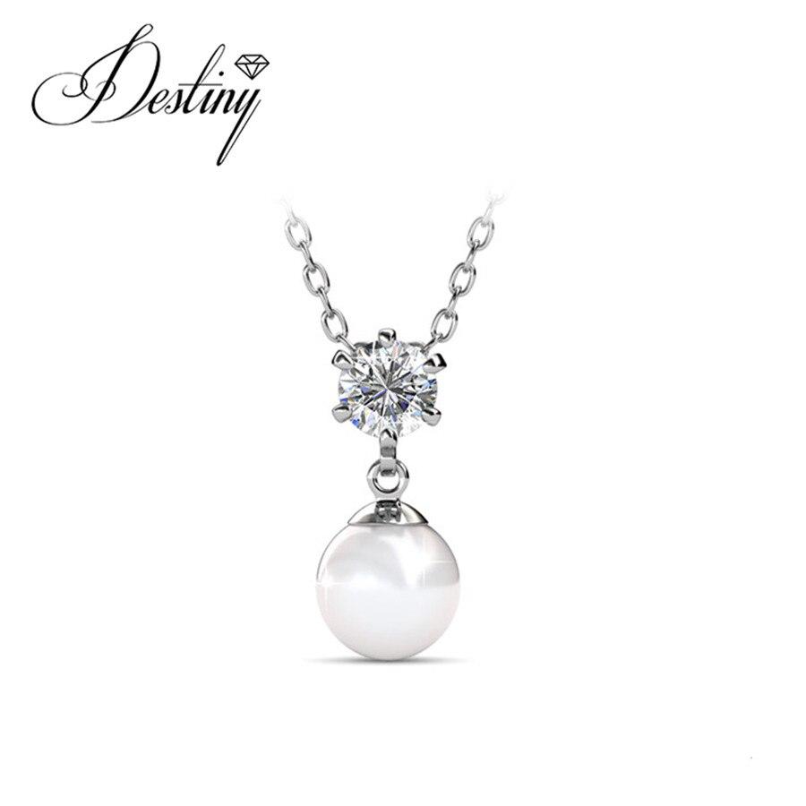 63e41d5dba4c2 Destino Jóias Embelezado com cristais de Swarovski colar de Pingente de  Pauline P0572