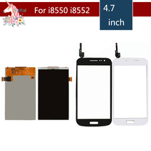 4.7 For Samsung Galaxy Win I8550 i8552 LCD Display With Touch Screen Digitizer Sensor Replacement for samsung galaxy win gt i8552 gt i8550 i8552 i8550 touch screen panel sensor digitizer front glass lens touchscreen no lcd