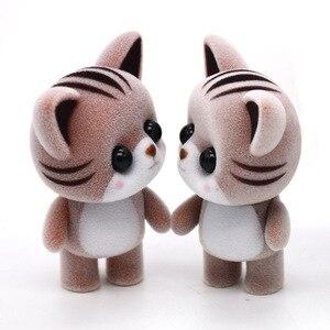 Image 3 - ألعاب دمية لطيفة صغيرة متدفقجة كاواي صغيرة لتزيين السيارة ألعاب شخصيات دمى للأطفال هدايا لمنزل دمية ذاتي الصنع حيوانات متدفق