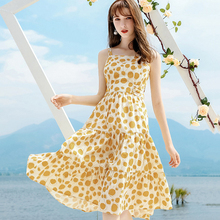 AcFirst Summer Yellow Red Cotton Lace Women Dress Long Dresses Backless Holiday Sexy Sundress Bow Sweet Lanon