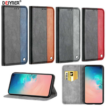 Flip Leather Case For Samsung Galaxy S6 S7 S8 S9 S10 E A10 A20 A30 A40 A50 A70 M10 M20 M30 J4 J6 A5 A6 A7 2018 Plus Wallet Case