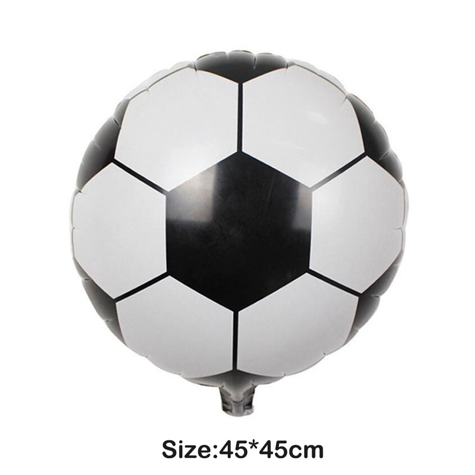 1pc Football Aluminum Balloon Globos Kids Toys Birthday Party Supplies Summer Pool Party Beach Party Decoration