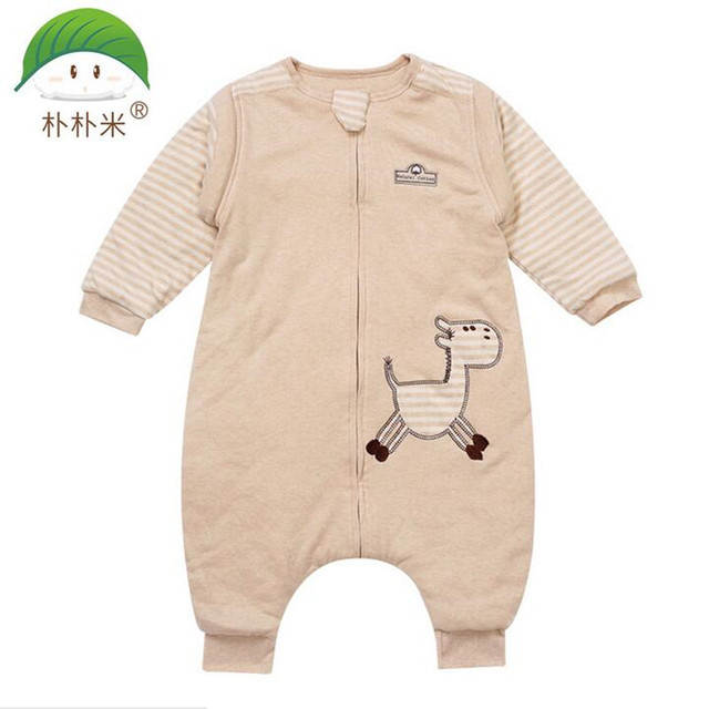 Popom Baby sleeping bag autumn winter thickening colored cotton child organic cotton thick Baby Sleep Sack  Baby Blanket Swaddle