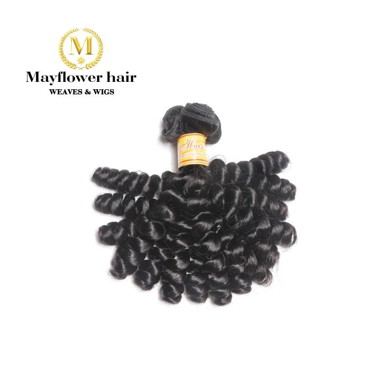 Mayflower 1/2/3/4 Bundle Funmi Hair Sassy Curl Natural Black 8-18