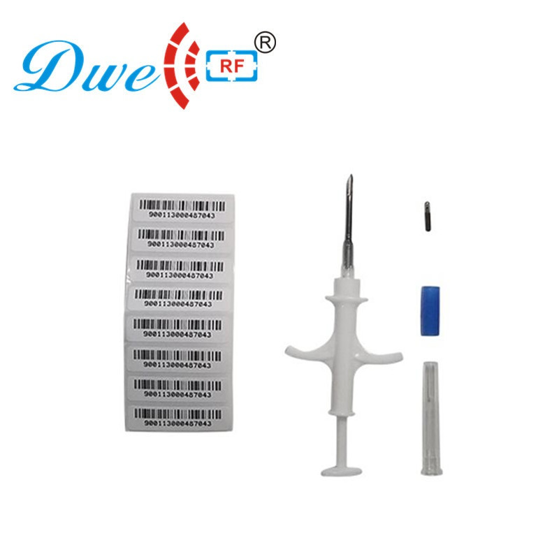 Free Shipping 50pcs/lot Iso 11784 Rfid Em4305 Tracking Chip Cattle Raising Glass Syinge Microchip Mascotas For Pets Animals