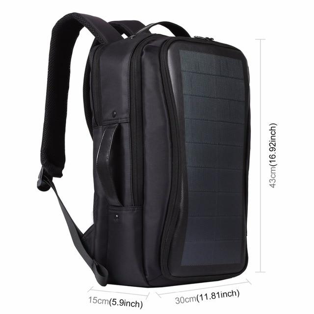 Flexible Solar Panel 14W Power Backpack  2