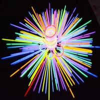 630pcs Party Fun Fluorescence Light Glow Sticks Bracelets Necklaces Accessories Luminous Toys for Festival Xmas Halloween