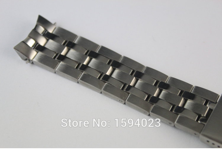 Купить с кэшбэком 19mm PRC200 T055417 T055430 T055410 Watchband Watch Parts male strip Solid Stainless steel bracelet strap
