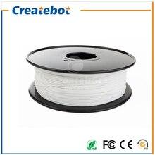 2015 Белый ПЭТГ Накаливания 1.75 мм 1 кг Createbot ПЭТГ Накаливания Горячей Продажи Хороший Выбор