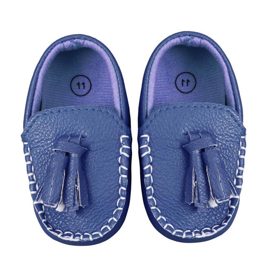 Baby Shoes Loafers Moccasins Bebek Faux-Leather Toddler Boat Flat Soft L1019 Ayakkabi