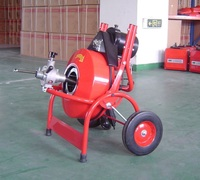 Professional Electric Power Machine Auger Cable Drain Clog Cleaner Snake Pipe Sewer Applicatable 32 100mm Tube