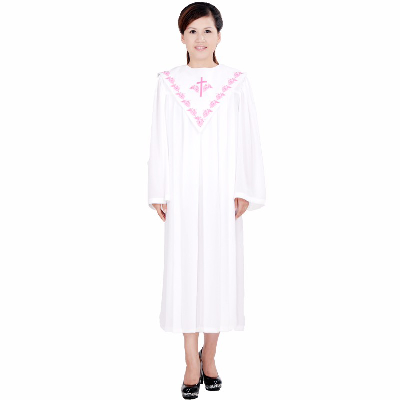 Bible Gown Robe Wear Clothes European Version Of The Bible Costume Church Garment Women Stage Costumes For Singers Christian