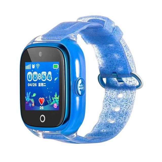 f006605ac1b2 Los niños teléfono GPS smart watch DF34 con cámara reloj de bebé nadar IP67  impermeable llamada